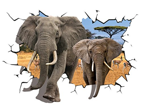 eozy-3d-sticker-mural-elephants-savane-africaine-autocollant-maison-mur-sallon-a-manger-chambre-enfa