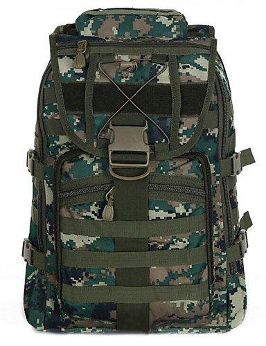 ZQ 2 L Rucksack Camping & Wandern Draußen Multifunktions / 3 in 1 Hellblau Leinwand Other jungle camouflage