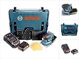 Bosch Professional GSS 18 V-10 Akku Schwingschleifer in L-Boxx + 1 x GBA 3,0 Ah Akku + GAL 1880 CV Schnellladegerät