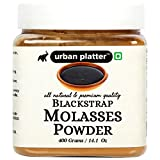 Urban Platter Blackstrap Molasses Powder is made from pure molasses, converted to a free flowing powder using IP maltodextrin which yields a pure molasses flavour. It can be used in a variety of products where a quality molasses flavour is desired wi...