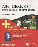 After Effects CS4 Effets spéciaux et composition (1Cédérom)