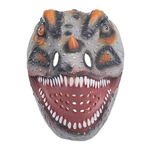Maske, tragbare Halloween realistische Dinosaurier Maske Kinder Erwachsene Spielzeug Kinder Geschenke Party kostüm - Realistische Dinosaurier Kostüm Kinder