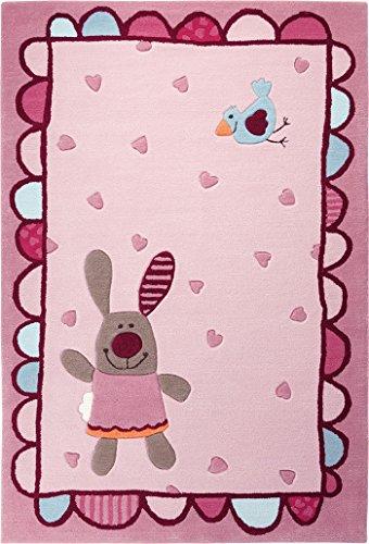 sigikid-le-tapis-3-happy-friends-stripes-rose-tapis-de-jeu-hearts