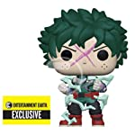 Funko Pop Anime: My Hero Academia - Deku Full Cowl Glow-in-The-Dark Pop! Vinyl Figure (Entertainment Earth Exclusive)