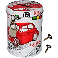 alles-meine.de GmbH Spardose - Allzeit Gute Fahrt - Stabile Sparbüchse aus Metall - Fahrzeug /.. preisvergleich bei kinderzimmerdekopreise.eu