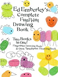 Ed Emberley's Complete Funprint Drawing Book (Turtleback School & Library Binding Edition) by Ed Emberley (2003-04-01)