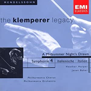 The Klemperer Legacy (Mendelssohn)
