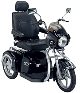 Drive Easy Rider 8Mph Luxury Mobility Scooter 3 Wheeled Black