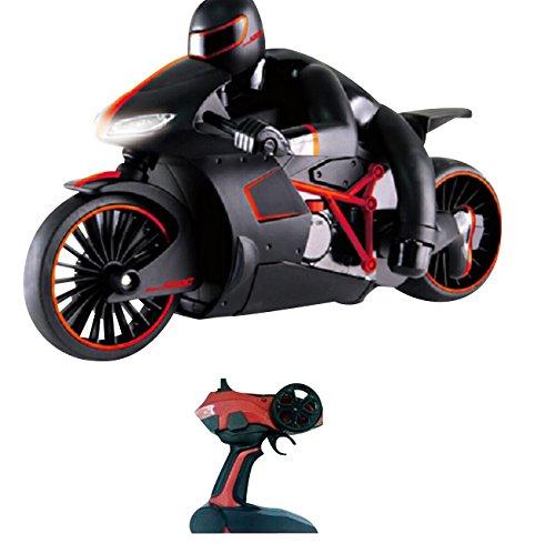 RC Highspeed Motorrad mit Fernbedienung rot-Schwarz 2,4 GhZGeschwindigkeit 20 km/h
