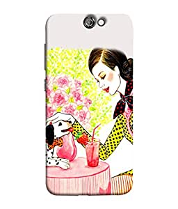 Digiarts Designer Back Case Cover for HTC One A9 (Kid Favourite Children Toddler)