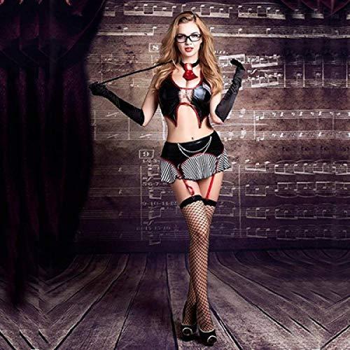 xbowo-Appeal Erotische Dessous Cosplay Frauen Porno Dessous Hot Erotic Lehrer Uniform Kostüm Unterwäsche Tenue Sexy Cosplay Unterwäsche Porno Kostüme @ Black One Size