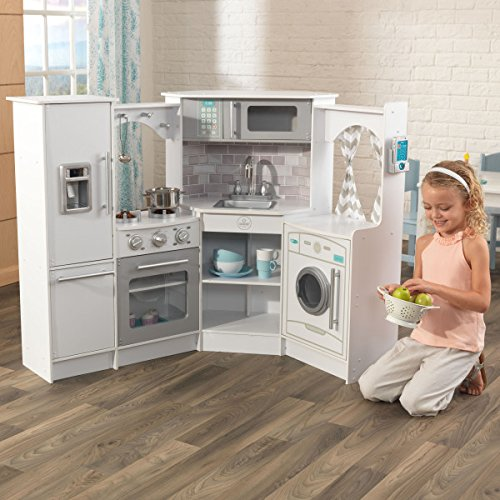 KidKraft Ultimate Corner Play Kitchen White