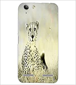 PrintDhaba Leopard D-4349 Back Case Cover for LENOVO A6020a46 (Multi-Coloured)
