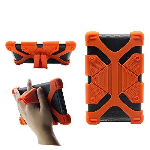 Universal 7 Zoll Tablet Case Kinder Shockproof Silikonkautschuk Fall Deckung mit Stand für RCA 7