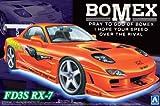 Mazda RX-7 FD3S BOMEX Sport Compact in 1:24 Model Kit Bausatz Aoshima 005866