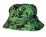 Cool Colorful Cannabis feuille de chanvre Seau Chapeau de soleil ...