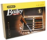 Stanley 2-16-217 - Cinceles bailey, set de 5 (6, 10, 15, 20, 25 mm)