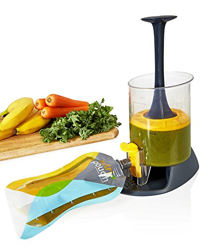 Nutripouch boissons Système de stockage – Profitez de jus de fruits mixtes, Home Made shakes et smoothies on the Go – Idéal Nutribullet accessoire Value Pack