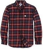 Carhartt Hamilton Plaid Hemd Slimfit, Farbe:rot, Größe:M