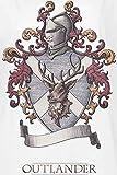 Outlander Lallybroch Girl-Shirt weiß L für Outlander Lallybroch Girl-Shirt weiß L
