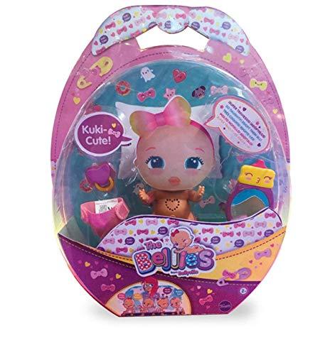 The Bellies - Kuki Cute, Muñeco para Niños y Niñas a Partir de 3 Años, Multicolor (Famosa 700015143)