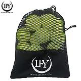 LUMINARY FOR YOU Tennisbälle 15 Stück inklusive Mesh-Tragetasche Tennisbälle perfekt für das Training, Tennis- Unterricht, Freizeitspiele oder als Hundespielzeug
