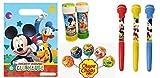 Chance SAS presenta un bellissimo kit regalo per feste compleanno bambino a tema Topolino Disney. All'interno trovare simpatici ed originali gadget da fornire ai bambini come ricordino da portare a casa. Gli articoli arriverannop singolarment...