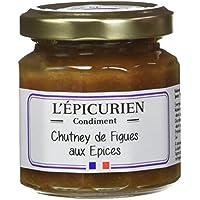 L'Epicurien Chutney aux Figues et aux Epices 115 g -