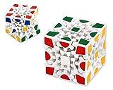 DSstyles 3D Puzzle 3x3 Cubo de engranajes velocidad Puzzle - Blanco