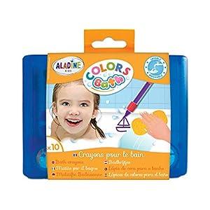 Aladine 42032- Rotuladores de Colores para la bañera