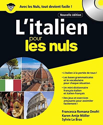 L'italien pour les Nuls grand format, 2e édition par Karen Antje MOLLER, Francesca Romana ONOFRI