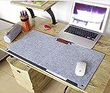 Multifunktionale Felt Schreibtisch Matte, SUNNIOR Laptop-Tastatur-Mausunterlage für Haus und...