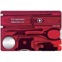 Victorinox SwissCard Lite Carta di Credito Multiuso Svizzero, Ruby - Spada Letter Opener