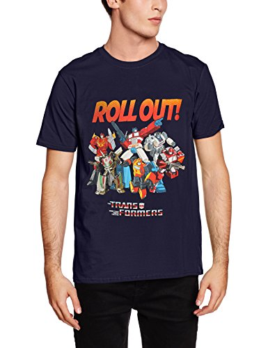 Rockoff Trade Herren T-Shirt Roll Out blau (marineblau)