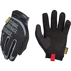 Mechanix Wear - Guantes de Utilidad (Medio, Negro)