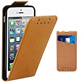 Coque iPhone 5, Coque iPhone 5S, Coque iPhone SE,Supad Etui à rabat protecteur en...