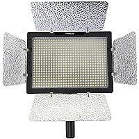 Yongnuo YN-600 Pro - Lámpara con luz LED de estudio fotográfico, negra