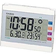 Casio Anuncio Temperatura e higrómetro con Ambiente de Vida Radio Reloj DQL-220J-7JF