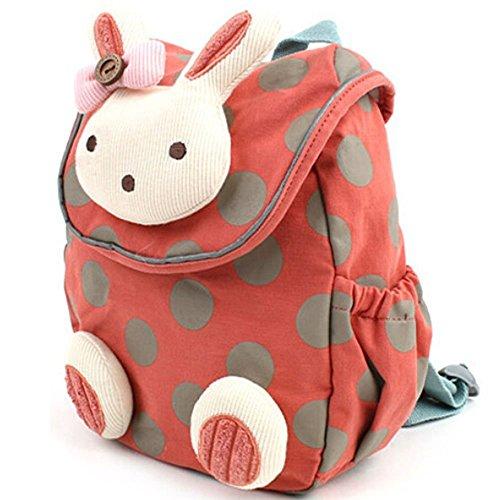 Kinder-Rucksack 3D Tier Kaninchen, Anti-Verlust,...
