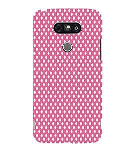 Pink Chandra Moon 3D Hard Polycarbonate Designer Back Case Cover for LG G5 :: LG G5 H850 H820 VS987 LS992 H860N US992
