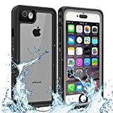 Owkey iPhone 6/6S/7 Waterproof Case, Underwater Protective Cover Shockproof Snowproof Dustproof Rugged IP68