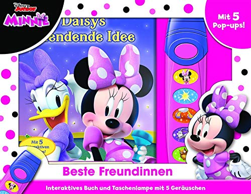 Disney Minnie - Beste Freundinnen - Pop-up-Buch mit Taschenlampe - Bilderbuch mit 5 zauberhaften Geräuschen (Minnie Taschenlampe)