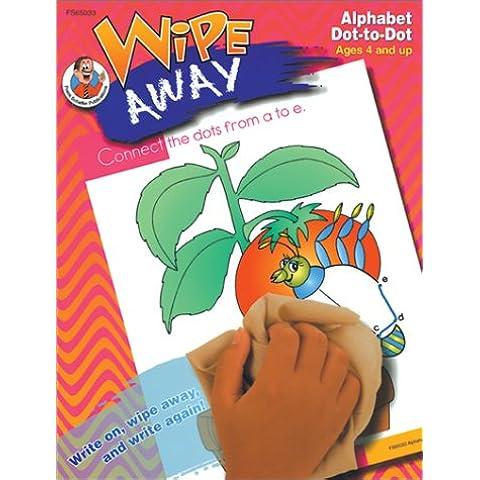 Wipe Away Alphabet Dot-to-dot