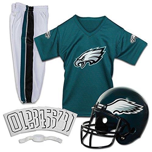 Franklin Sports NFL Deluxe Jugenduniform-Set, Jungen Unisex, 15701F10, Philadelphia Eagles, m - Eagle Electronics