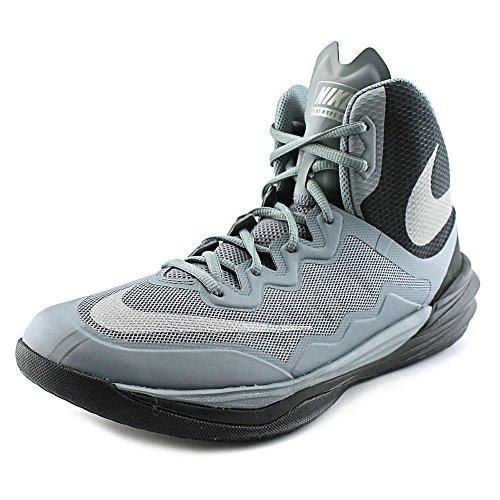 Nike Herren Prime Hype DF II Basketball Turnschuhe, Gris (Gris (Cl Gry/Rflct Slvr-Blk-Mtllc Sl)), 42 EU