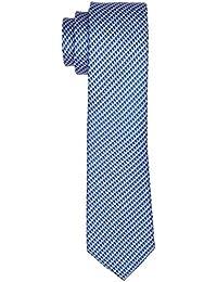 Eterna Herren Krawatte 9234 Mehrfarbig (Blau Gemustert 85), 6
