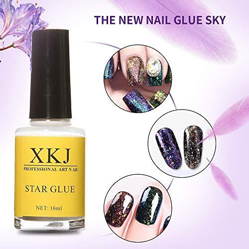 16ML Star Glue Vernis À Ongles Nail Art Vernis À Ongles Polish UV LED Gel Polonais