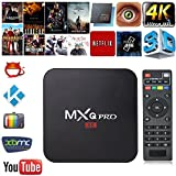 MXQ Pro - TV Box, Android 5.1, procesador Quad-Core, Kodi preinstalado