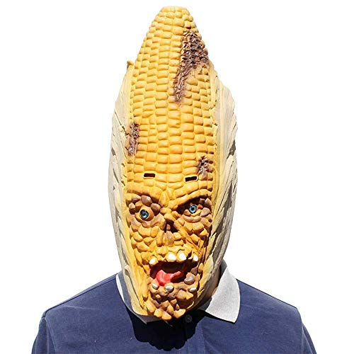 Captain Real America Kostüm - Xiao-masken Maske Maskerade Prom Maske Neuheit Latex Parodie Horror Scary Corn Maske Halloween Kostümparty Kostümdekorationen