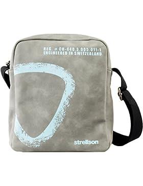 Strellson Paddington ShoulderBag SV 4010001169 Herren Schultertaschen 21x25x6 cm (B x H x T)